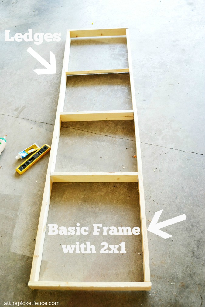 plate rack frame & DIY Wall Plate Rack - At The Picket Fence