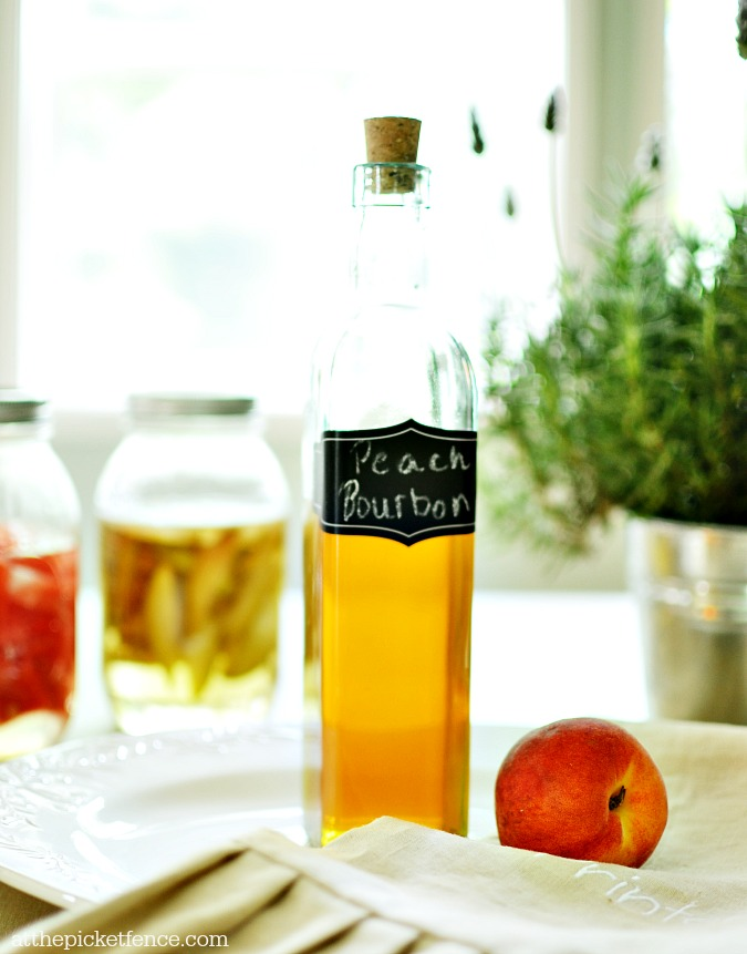 Peach infused liquor atthepicketfence.com