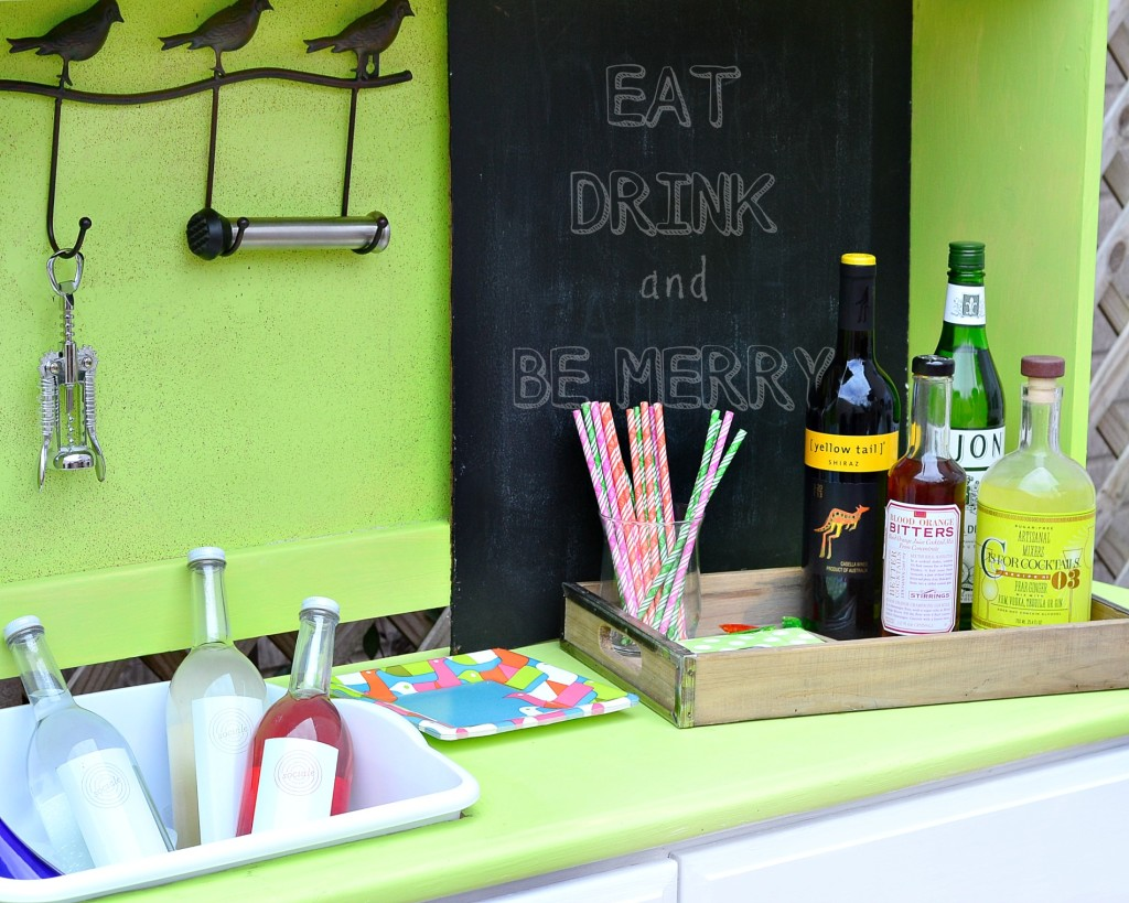 Potting Bench Bar for Party