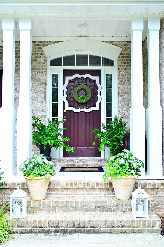 Southern Summer Home Tour Front Porch