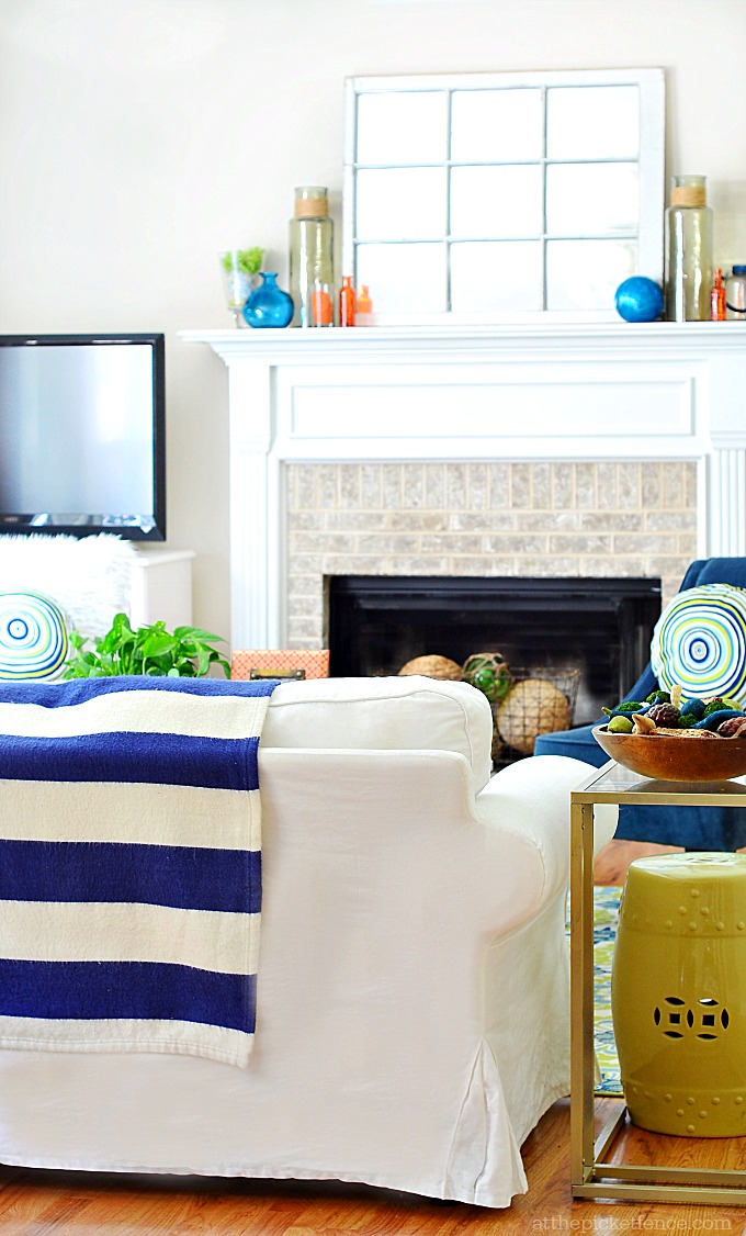 Summer Home Tour Family Room