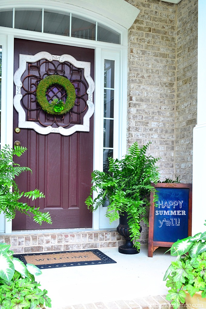 Summer Home Tour Front Porch 2