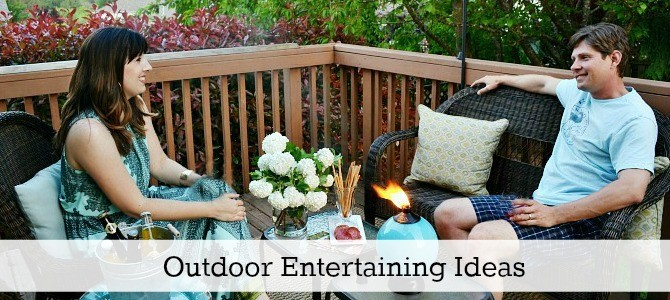 outdoor entertaining ideas slide