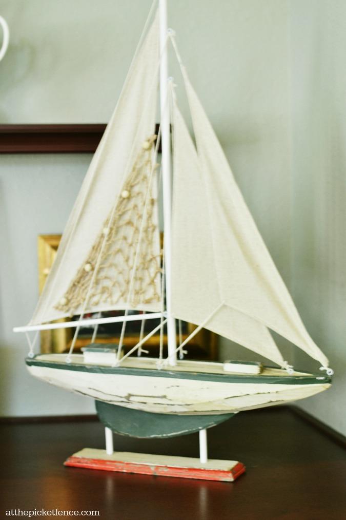sailboat decor