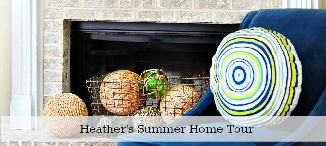 Heathers summer home tour slide