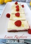 Lemon Raspberry Cheesecake Bars PM