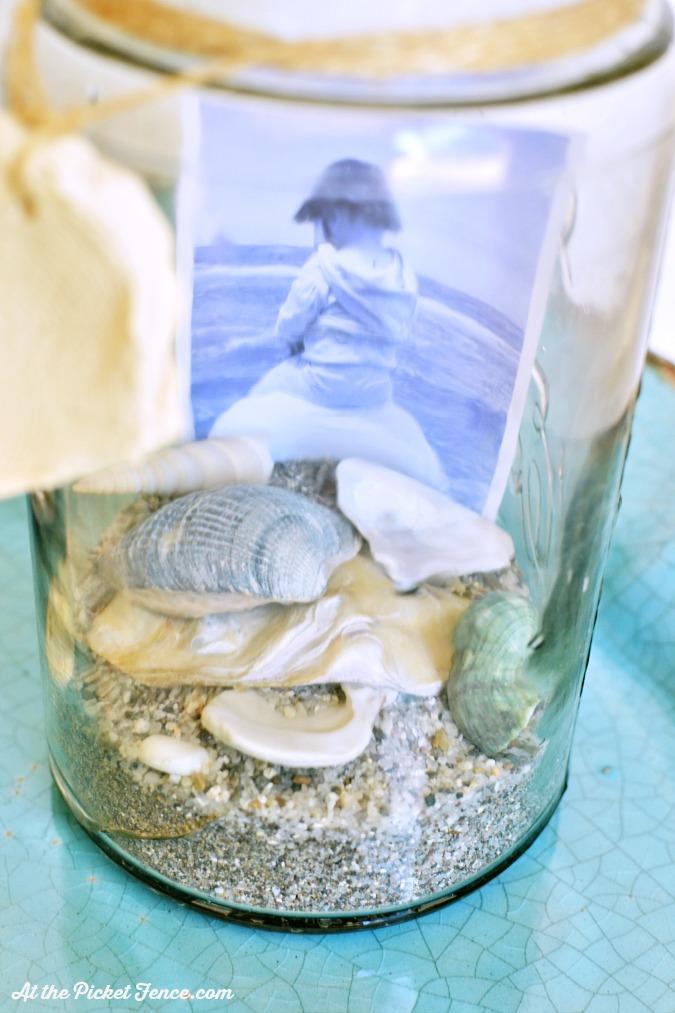 beach terrarium memory jar atthepicketfence.com