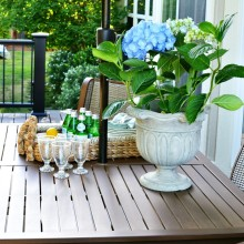 entertaining on the deck atthepicketfence.com