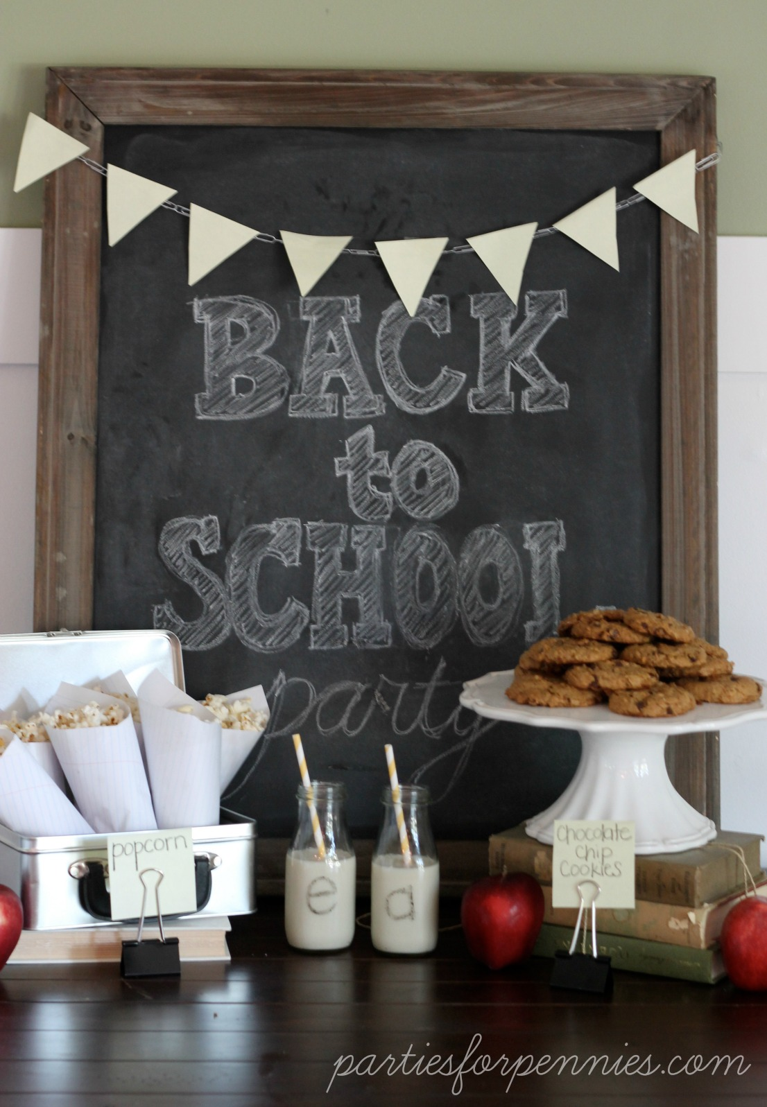 Back To School Party Ideas At The Picket Fence