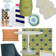 Mid Century Modern Eclectic Styleboard