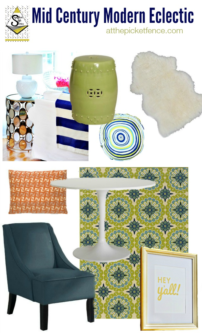 Mid Century Modern Eclectic, my signature style