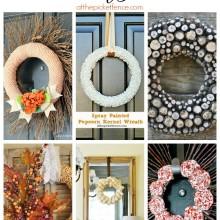 Six Fall DIY Wreaths