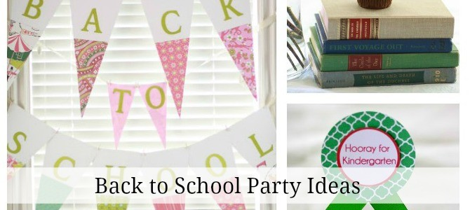 back to school party slides