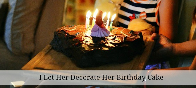 decorate her cake slide