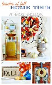 Touches of Fall Home Tour from At The Picket Fence