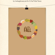 Hello Fall Printable