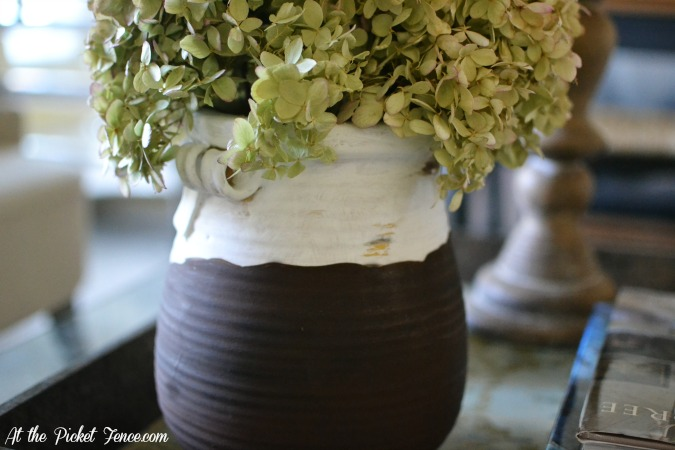 how to make a faux olive jar