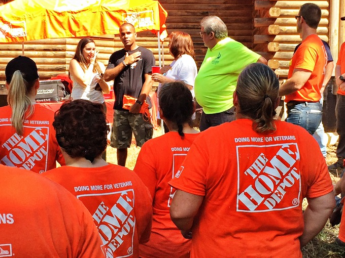 Home Depot Service to Veterans 14 small