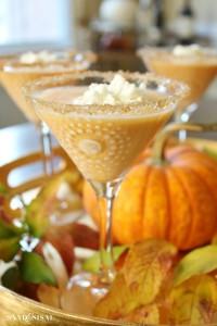 Pumpkin Pie Martinis