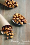 Roasted hazelnuts recipe from atthepicketfence.com