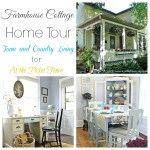 farmhouse cottage home tour at atthepicketfence.com