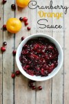 Cranberry Orange Sauce recipe from atthepicketfence.com