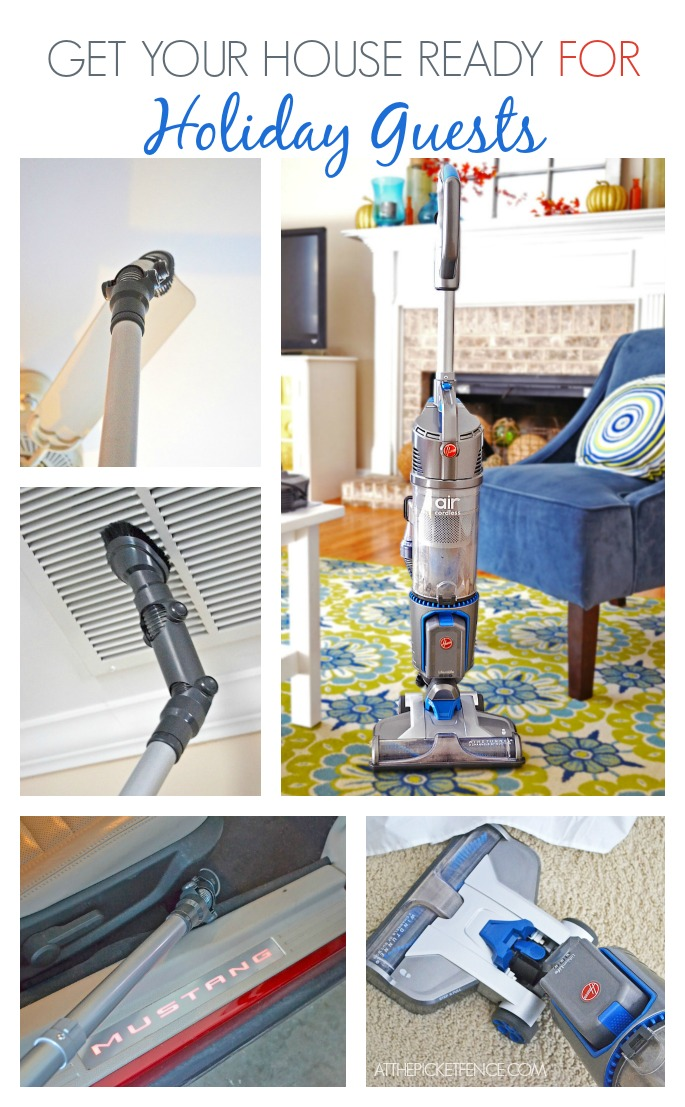 Hosting holiday guests … and a Hoover giveaway!
