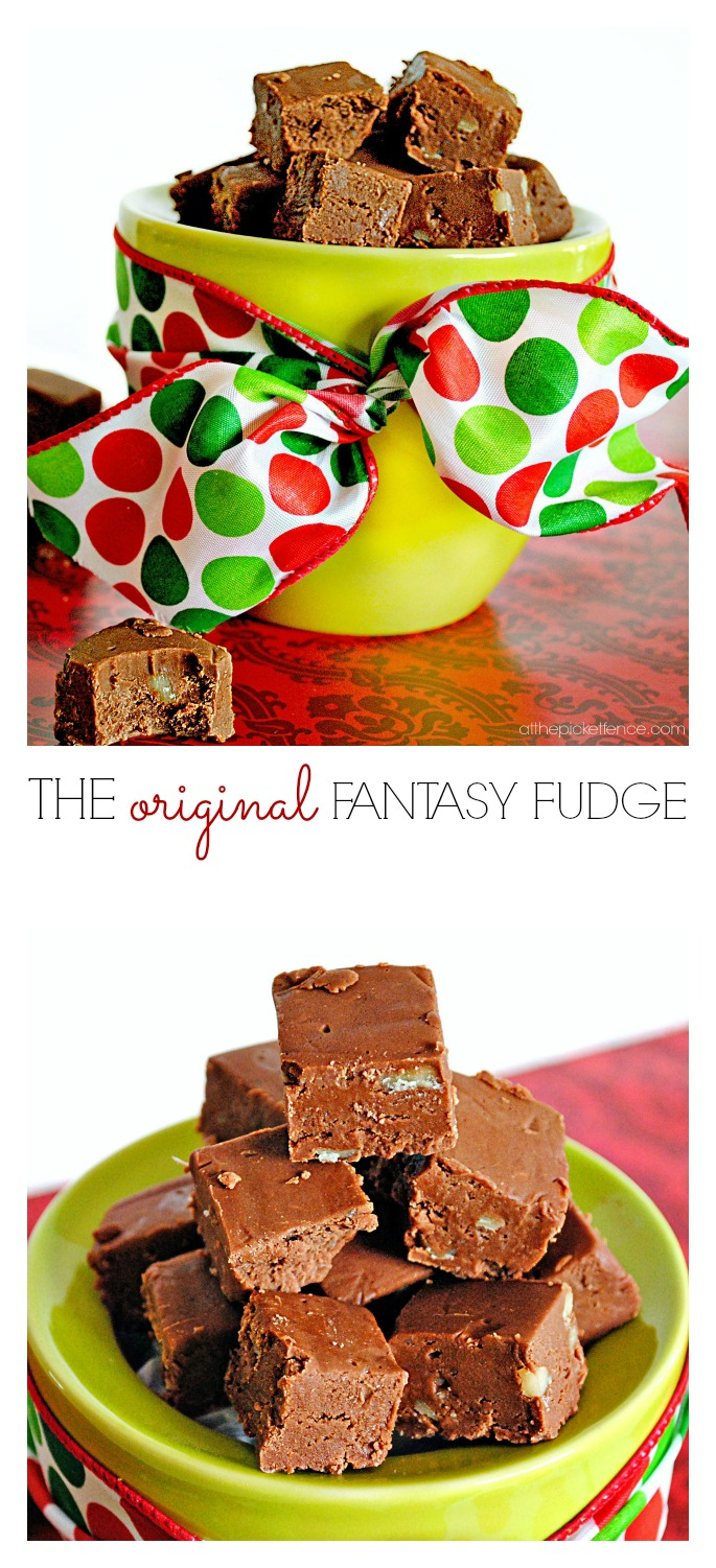 The original fantasy fudge recipe