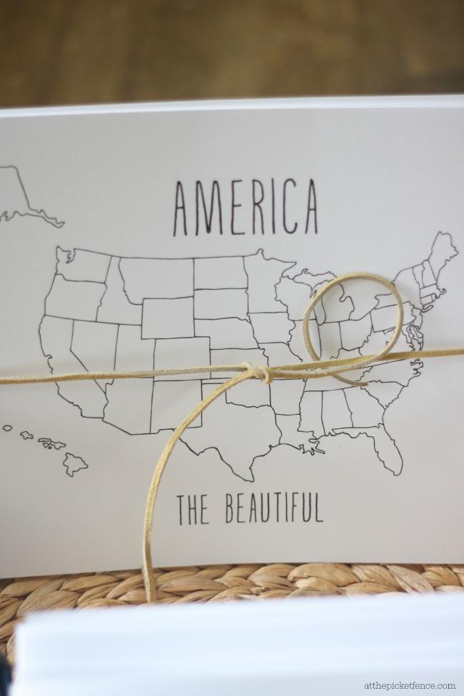 america coloring