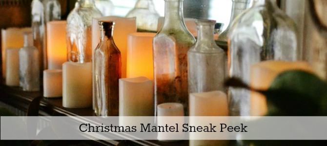 christmas mantel sneak peek slide