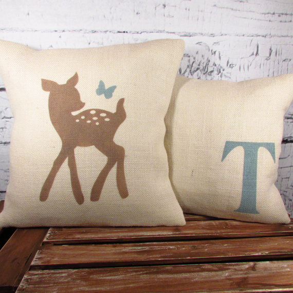 deer pillow from LaRae boutique