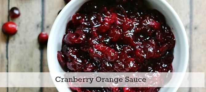 Cranberry sauce slide