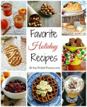 Favorite holiday recipe collection from atthepicketfence.com