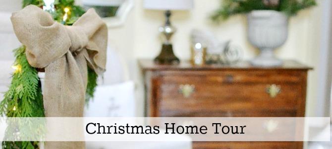 christmas home tour slide