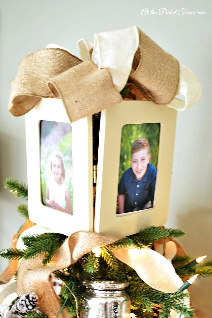 frame hinged box tree topper