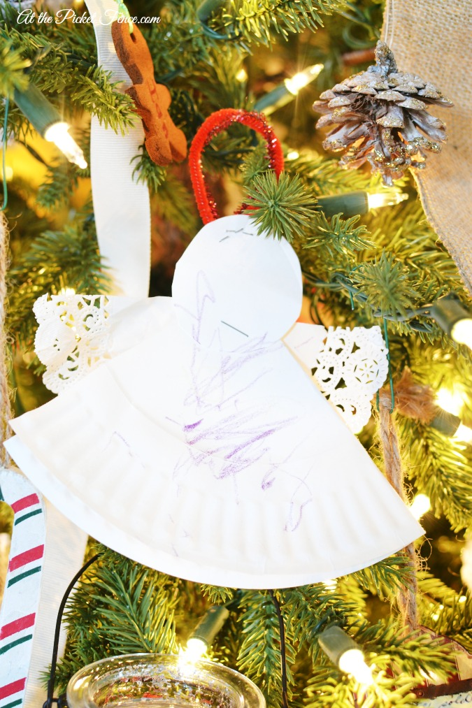 paper angel ornament atthepicketfence.com