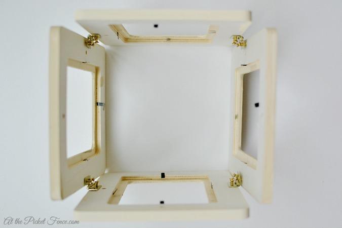 photo box tree topper step 3
