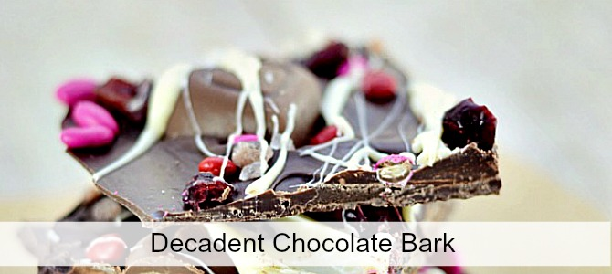 chocolate bark slide