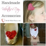 handmade valentine's day accessories from atthepicketfence.com