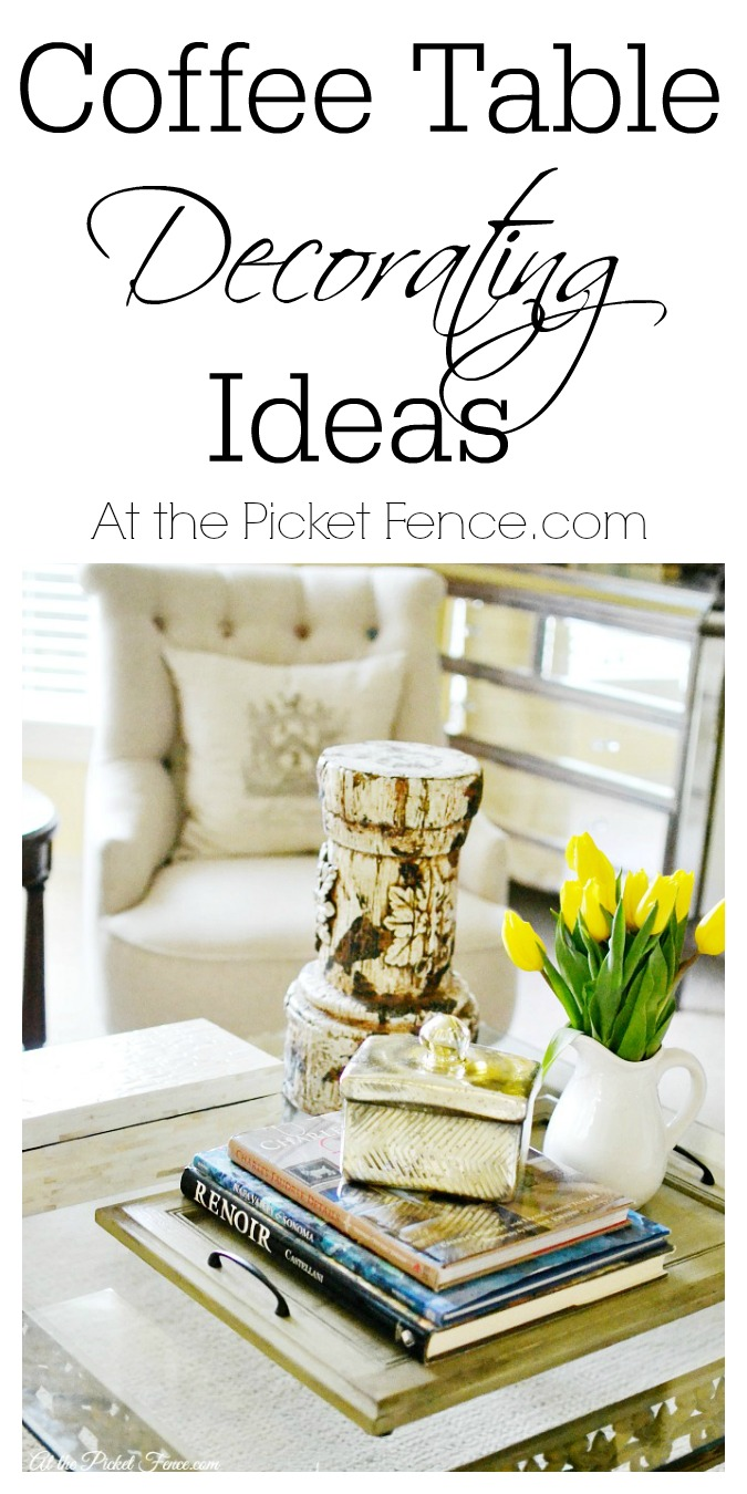 Decorate A Coffee Table Like A Boss On A Budget At The