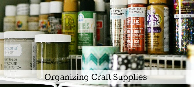 organizing craft supplies slide