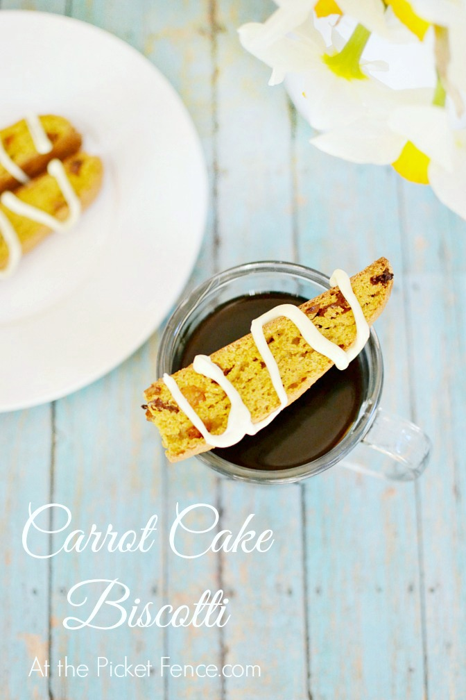 Carrot-Cake-Biscotti recipe from atthepicketfence.com