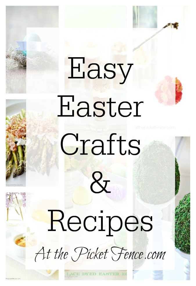 Easy-Easter-Crafts-Recipes atthepicketfence.com