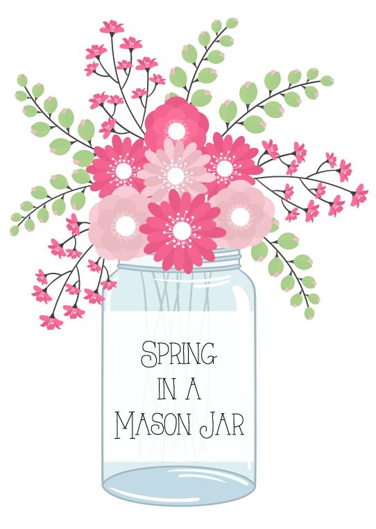 Spring in a Mason Jar1
