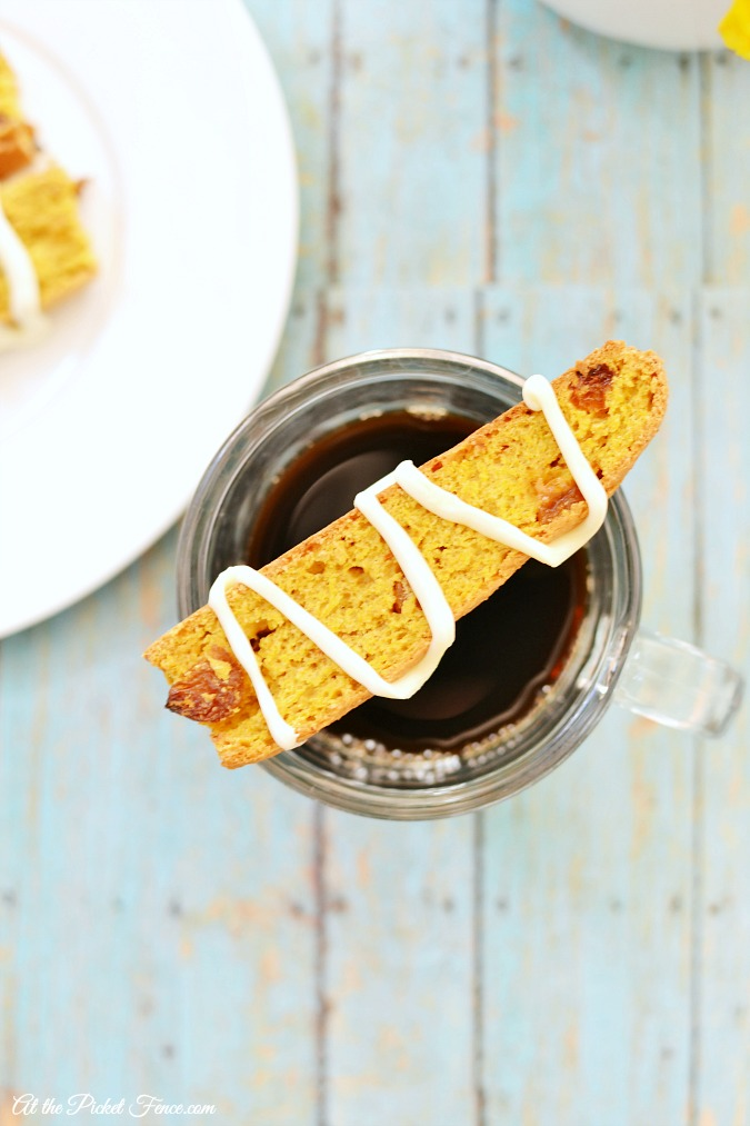 Carrot Cake Biscotti & Giveaway!
