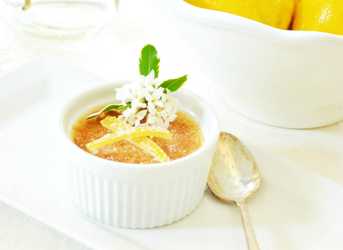 Easy Lemon Creme Brulee