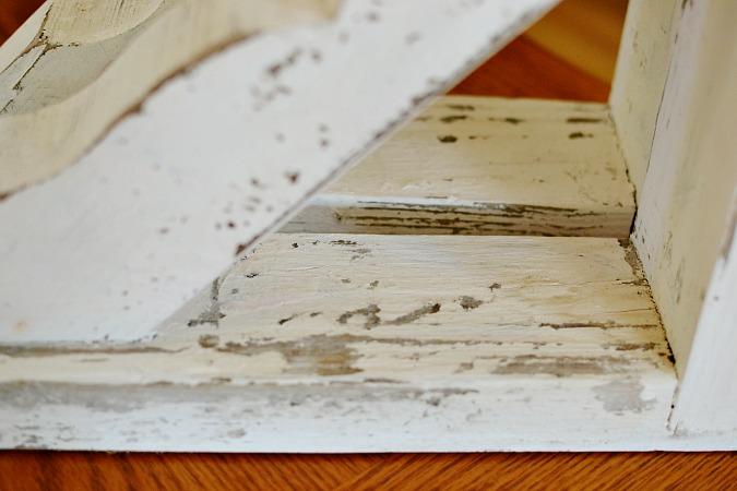 wood corbel details