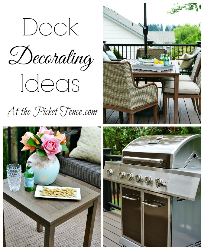 Outdoor Deck Decorating Ideas atthepicketfence