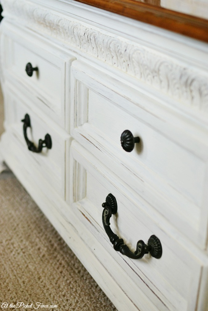 chalky finish coffee table drawers atthepicketfence.com