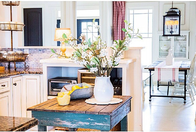life on shady grove french country kitchen
